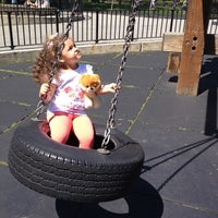 Photo taken at Rudin Family Playground by Natalia r. on 5/25/2014