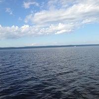Photo taken at Морской причал by Natasha on 7/25/2014