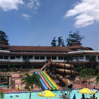 Photo taken at Karang Setra Swimming Pool by Rachma A. on 5/29/2014