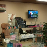 Photo taken at Art Top Nails & Hair by Cia on 9/19/2012