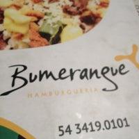Photo taken at Hamburgueria Bumerangue by Vanessa K. on 10/26/2012