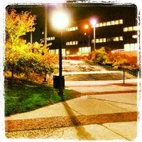 Photo taken at Homer Babbidge Library by Salman A. on 10/15/2012