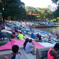 Photo taken at Columbia Town Center Lakefront by Bryan R. on 7/4/2013