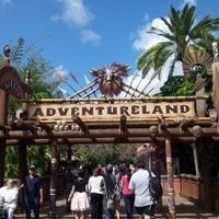 Photo taken at Adventureland by Jona R. on 4/10/2013