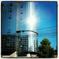 Photo taken at Universitatea Hyperion by Alex D. on 9/26/2012