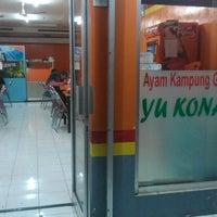 Photo taken at Rumah Makan Ayam Goreng Yukonah by Lufky L. on 5/3/2014