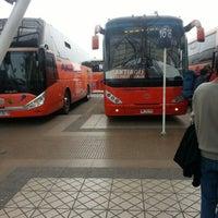 Photo taken at Terminal de Buses Santiago by Geovanni B. on 9/16/2012