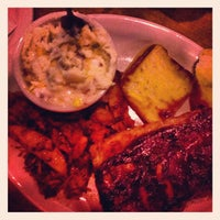 Photo taken at Texas Roadhouse by Jesse L. on 10/20/2012
