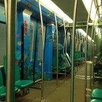 Photo taken at Metrostation Delfshaven by Lobke v. on 10/31/2014
