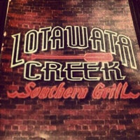 Photo taken at Lotawata Creek Southern Grill by Shannon H. on 9/23/2012