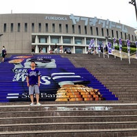 Photo taken at Fukuoka Yahuoku! Dome by Shingo M. on 7/25/2013