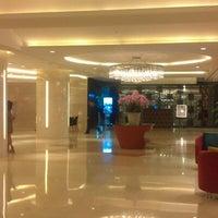 Photo taken at Grand Ambassador Hotel by Elena K. on 9/20/2012