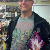 Photo taken at JC's Comics N' More by Amy H. on 5/3/2014