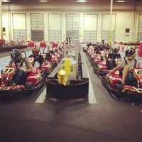 Photo taken at K1 Speed Ontario by Andrew B. on 7/27/2013