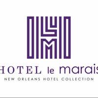 Photo taken at Hotel Le Marais by Anton v. on 2/8/2013