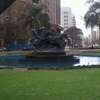 Photo taken at Plaza Fabini by Natalia M. on 9/17/2012