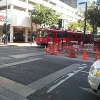 Photo taken at 5th Ave Trolley Station by Kirk N. on 9/24/2012