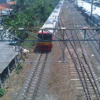 Photo taken at Stasiun Depok Baru by imam s. on 3/2/2013
