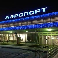 Photo taken at Bolshoye Savino International Airport (PEE) by Ольга on 1/30/2013