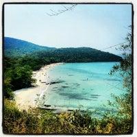 Photo taken at Sai Keaw Beach by Aleksandr S. on 3/6/2013