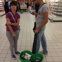Photo taken at Auchan by Giovanni R. on 9/20/2012