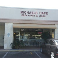 Photo taken at Michael's Cafe by Michael H. on 2/12/2013