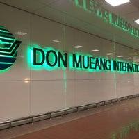 Photo taken at Don Mueang International Airport (DMK) by ukitkai k. on 7/19/2013