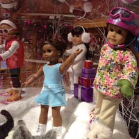 Photo taken at American Girl Place by Yoshikazu T. on 1/4/2013