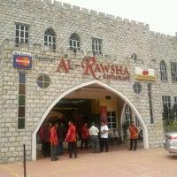 Photo taken at Al Rawsha Restaurant by Danish N. on 9/23/2012