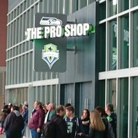 Photo taken at The Pro Shop at CenturyLink Field by Bastian . on 5/15/2016