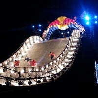 Photo taken at Red Bull Crashed Ice 2014 by Tyler O. on 1/27/2013