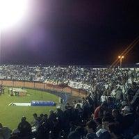 Photo taken at Estádio Aderbal Ramos da Silva (Ressacada) by Leandro B. on 10/10/2013