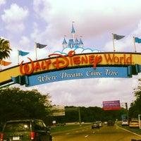 Photo taken at Walt Disney World Entrance by Edu Trevisan on 5/11/2013