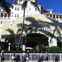 Photo taken at British Colonial Hilton by Juan Carlos C. on 1/16/2013
