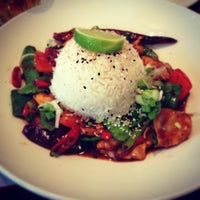 Photo taken at Wagamama by Mark W. on 12/17/2012