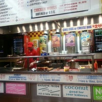 Photo taken at Papaya Dog by Richard L. on 12/4/2012