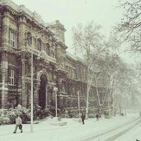Photo taken at İstanbul Teknik Üniversitesi by Mustafa S. on 1/26/2013