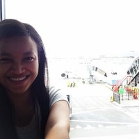 Photo taken at Gate B16 by Asti A. on 3/28/2015