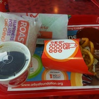 Photo taken at Arby's by Travis D. on 10/1/2012