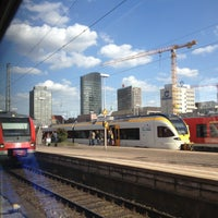 Photo taken at Dortmund Hauptbahnhof by Danijela🍀 on 4/18/2013