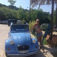 Photo taken at Almyra Beach Bar by Оксана on 7/21/2013