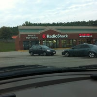 Photo taken at Radio Shack by Hope on 9/29/2012
