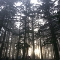 Photo taken at Spencer Butte Park by khedr b. on 2/2/2013