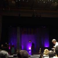 Photo taken at Teatro Sesc I by Diego B. on 4/27/2014