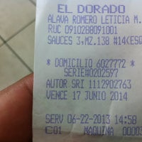 "Photo taken at Parrillada Restaurant ""El Dorado"" by Jorge A. on 6/22/2013"