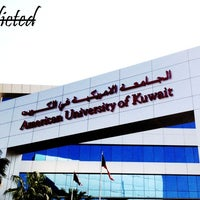 Photo taken at American University of Kuwait by Bedour on 2/20/2013