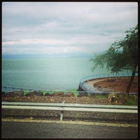 Photo taken at Sea of Galilee - Kinneret (כנרת) by Юля М. on 1/31/2013