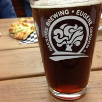 Photo taken at Oakshire Brewing by Peter M. on 4/13/2013