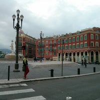 Photo taken at Place Masséna by Aleksandr M. on 6/9/2013