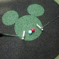Photo taken at Fantasia Gardens Miniature Golf by Jamie C. on 10/16/2012
